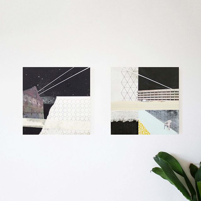 Shrubhill House I & II - Two pieces I made for an exhibition which was part of @leithlate back in 2015 🌙 . . . . . #leithlate #artwork #collage #diptych #mixedmedia #contemporaryartwork #leithwalk #saveleithwalk #shrubhillhouse #oldedinburgh #leith #demolishedbuildings #architecture #inspiredbyarchitecture #paper #acrylicpaint #paintingsfrom2015 #creativity #edinburghbasedartist #contemporaryscottishartist #mairitimoney #contemporaryscottishpainter #neatlines #boldshapes #pattern #pastelcolours #artworkincontext #studioshot #mixedmediapaintings #cutandpaste