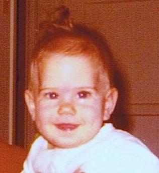 Paula as a baby!