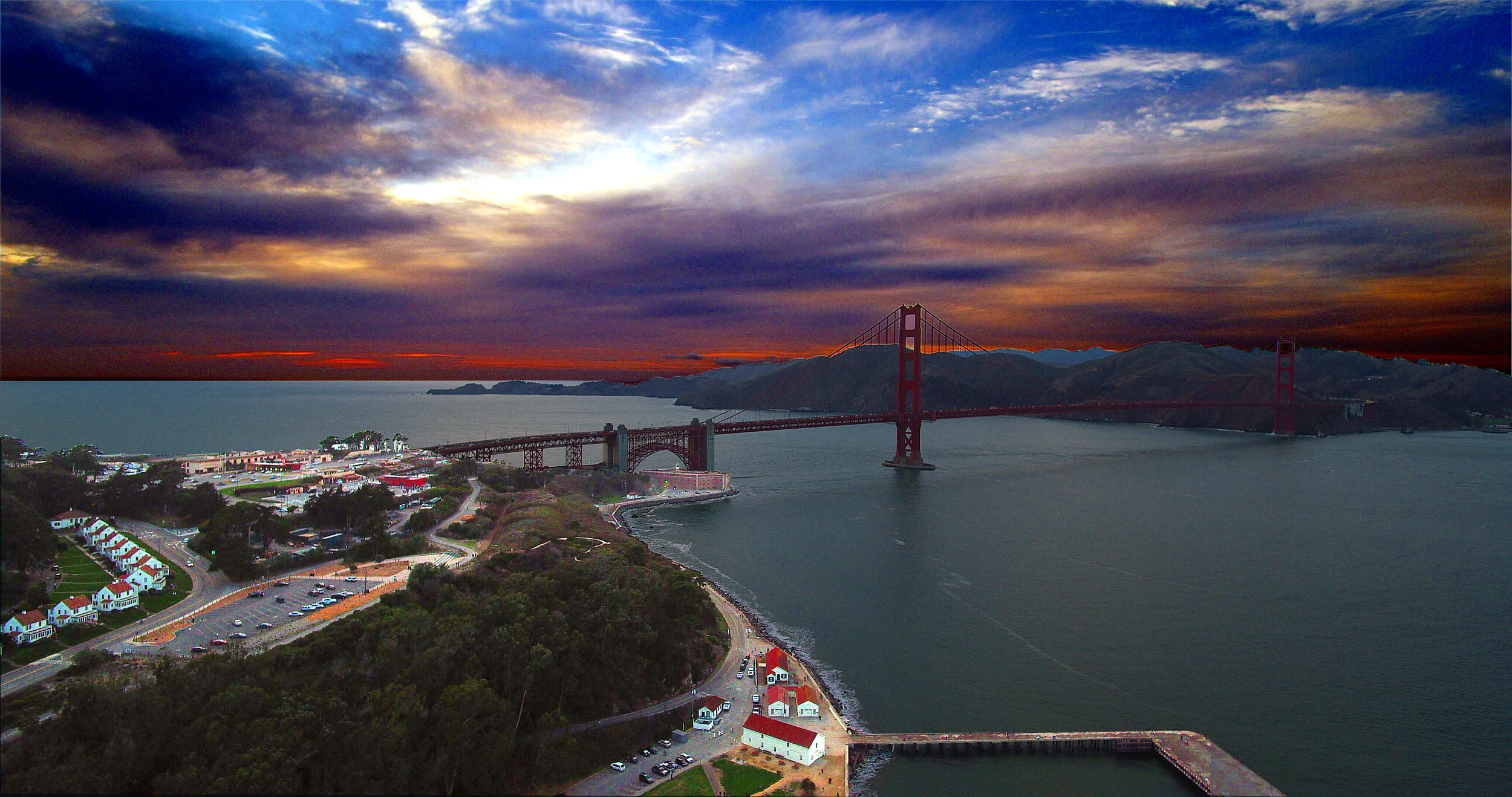 Drones for Aerial Photography in San Francisco