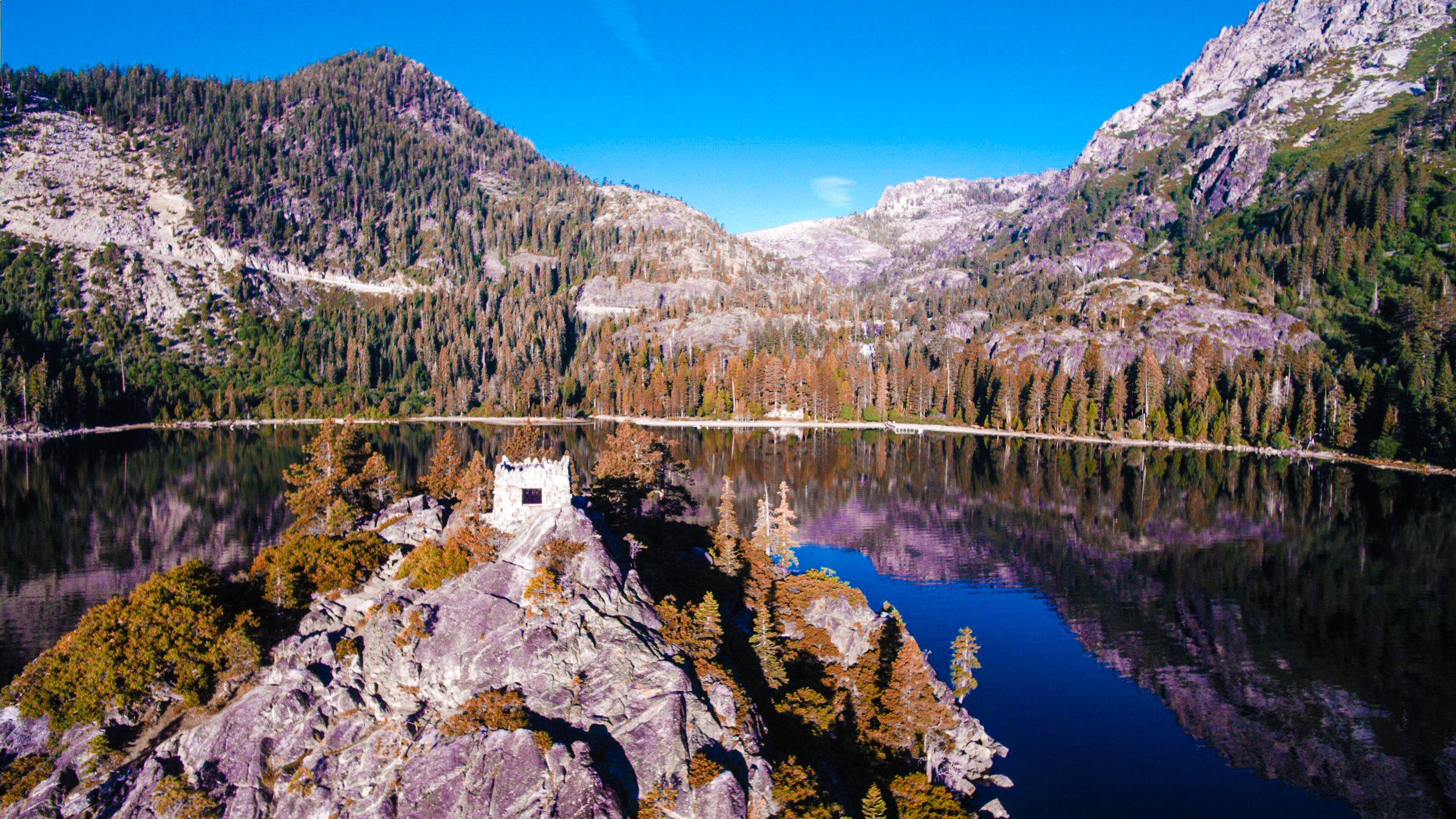 Drones for Aerial Photography in Lake Tahoe