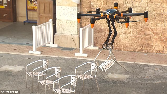Drones aren't just for aerial photography anymore.