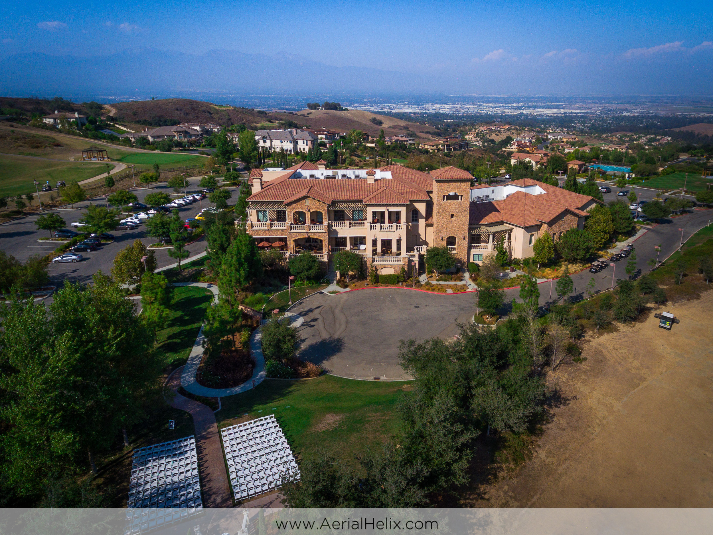 aerial videographer for vellano country club