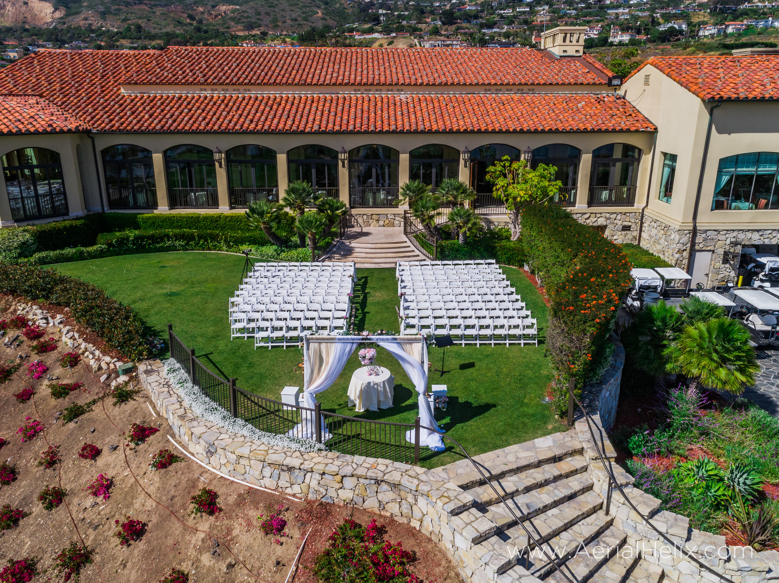aerial wedding videographer