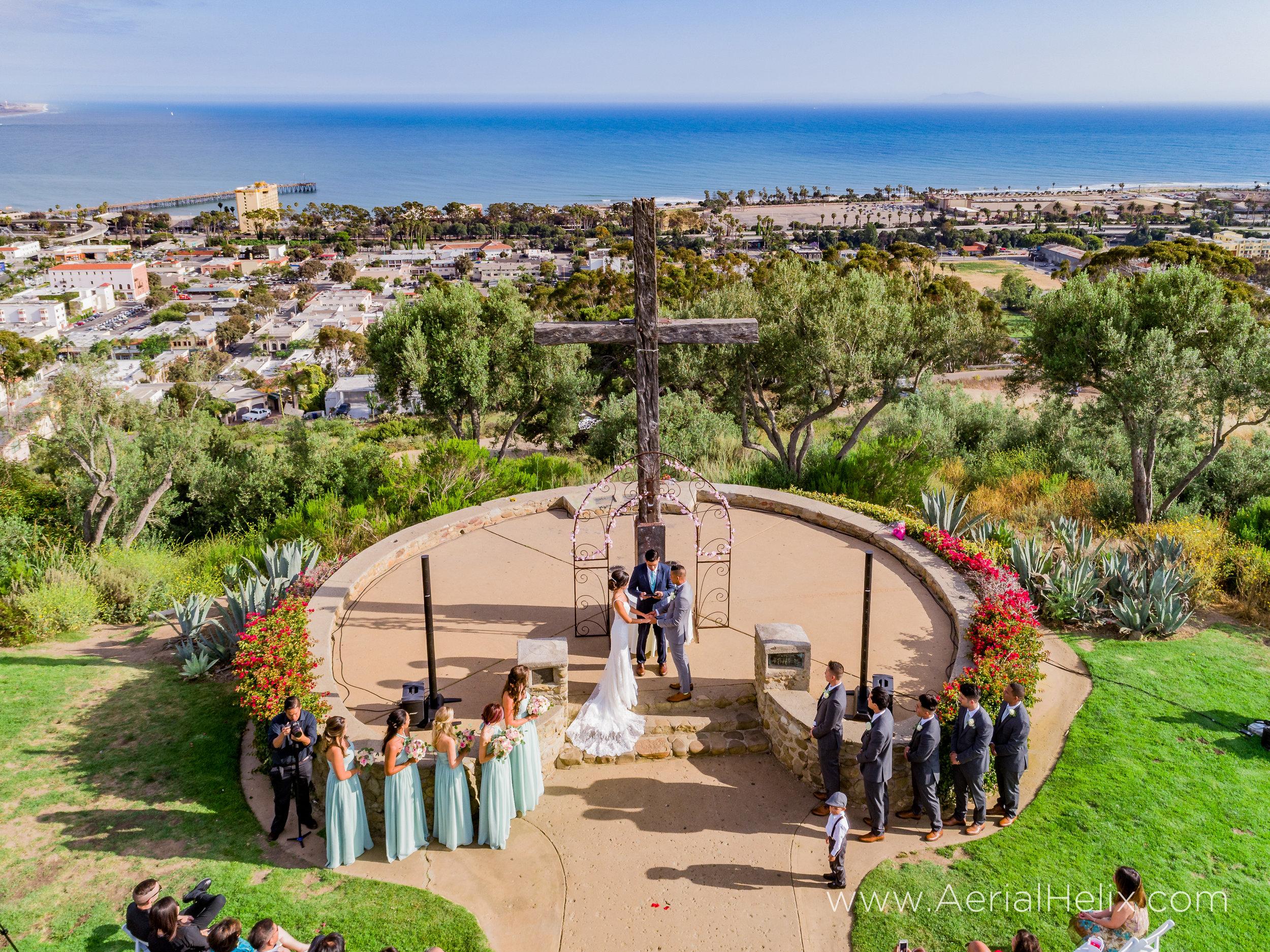 drone wedding photographer