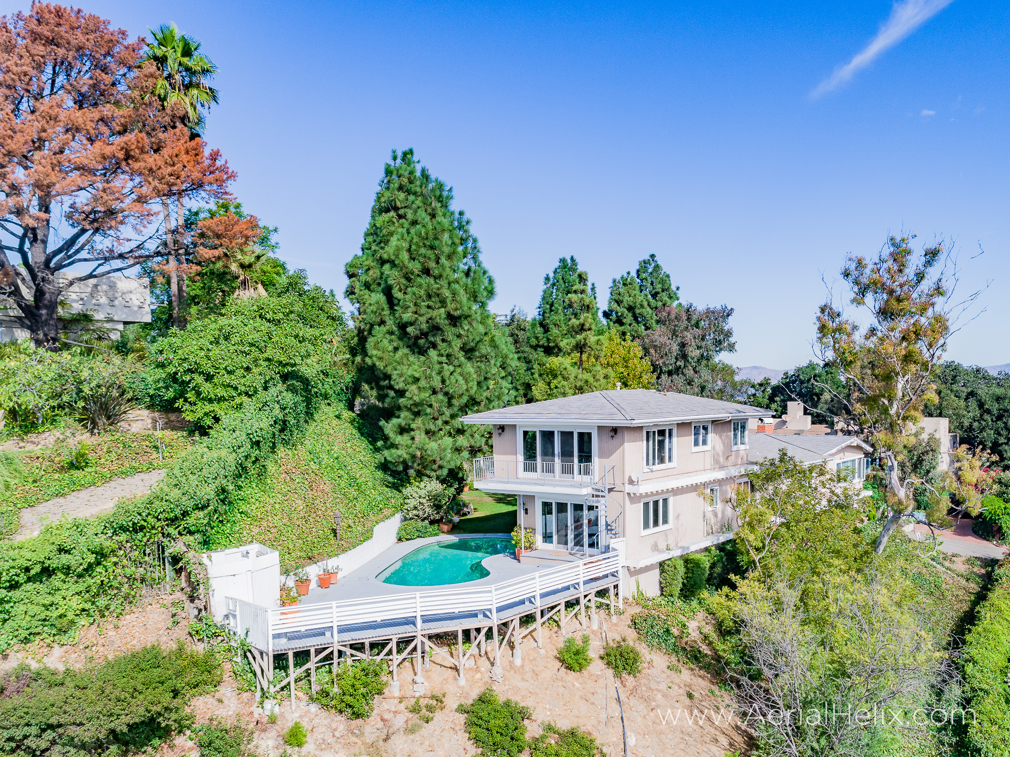 Mullholland Drive Aerial - HELIX Real Estate Aerial Photographer-13.jpg