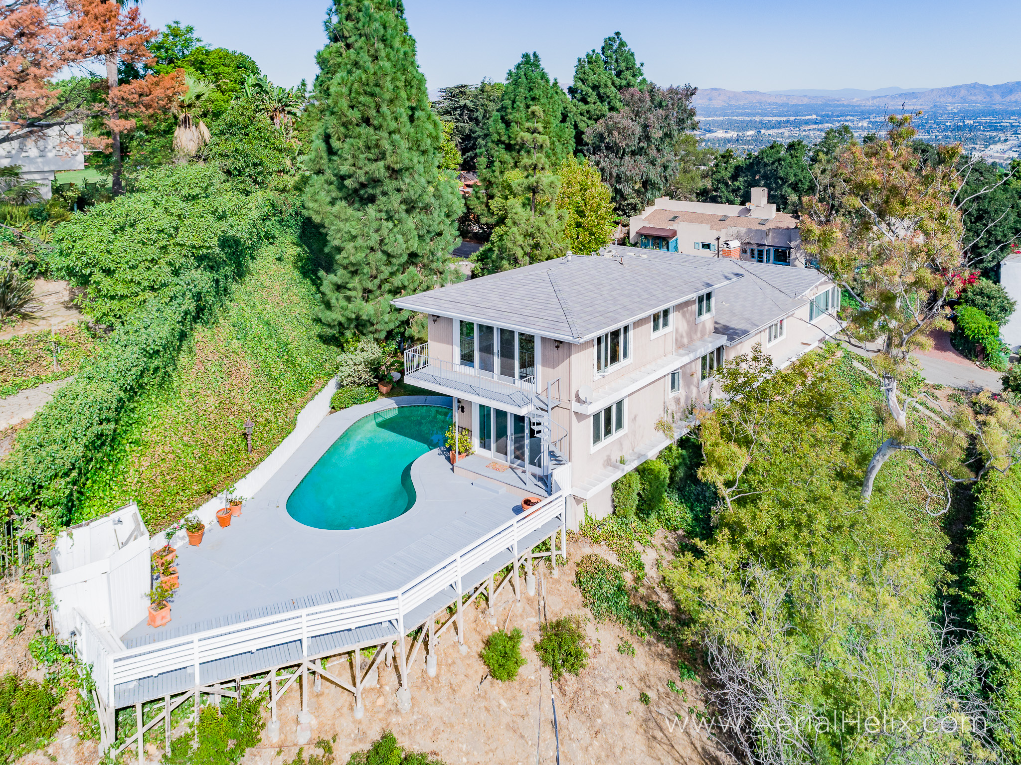 Mullholland Drive Aerial - HELIX Real Estate Aerial Photographer-20.jpg