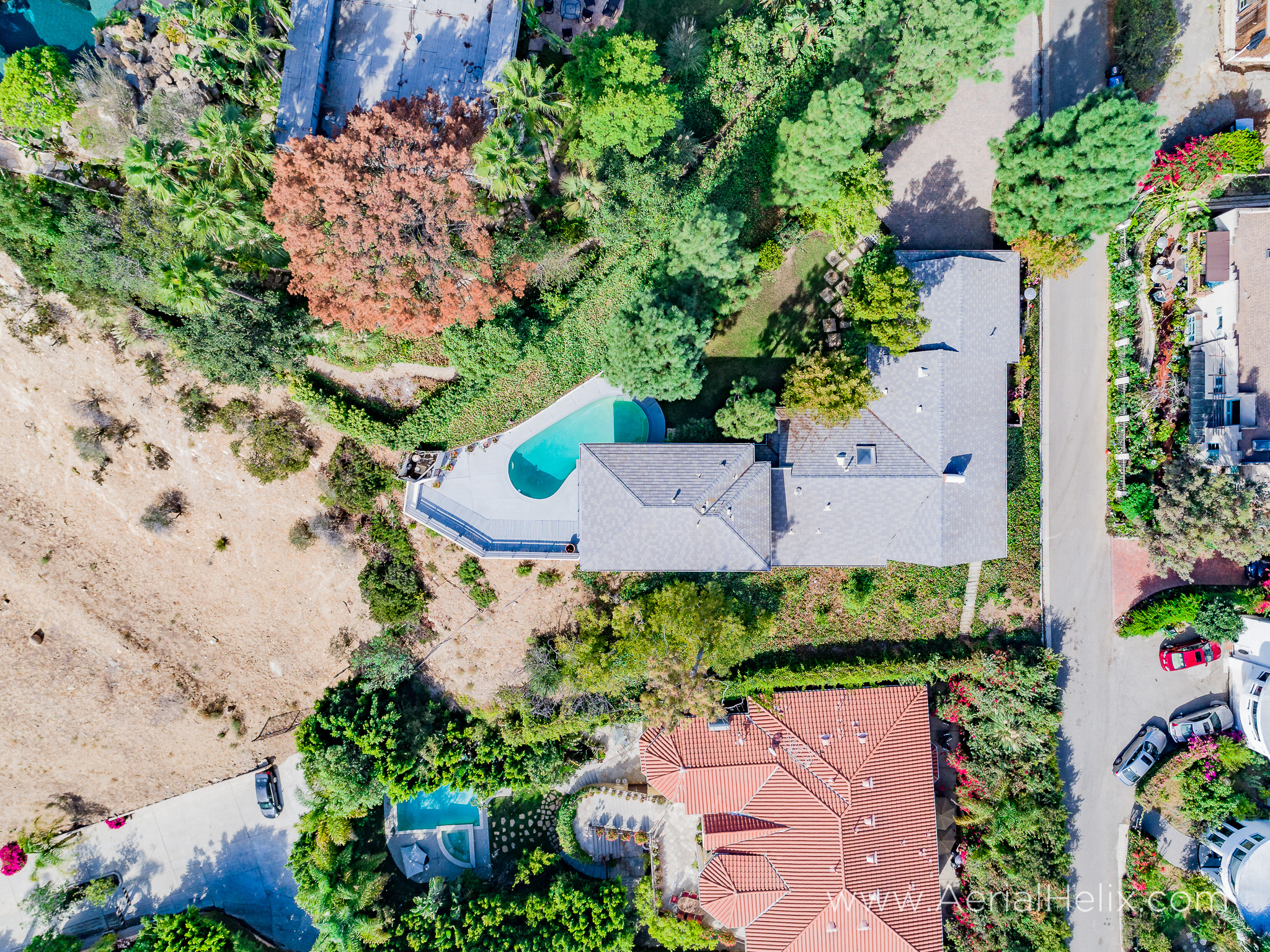 Mullholland Drive Aerial - HELIX Real Estate Aerial Photographer-21.jpg