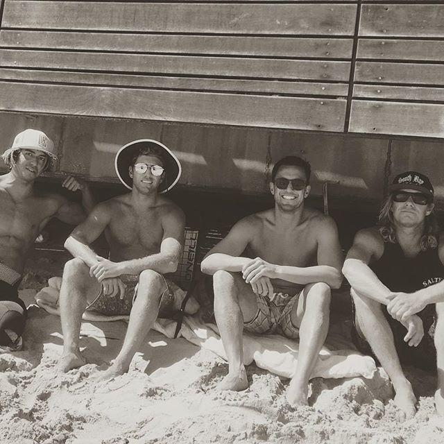 The boys #surflife #theoffice #beachislifestyle @stonyy
