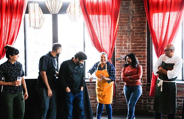 Only a handful of tickets left for next Wednesday's Brown in the South dinner in NYC at the @beardfoundation. Join Asha, Cheetie, Meherwan, and Vish for a beautiful evening of drinks, food, and conversation. Head over to the link in @browninthesouth's bio to snag a ticket while they're still available! You can also take a peek at the menu for the event!   Previous #BrownintheSouth events have been centered around conversations about food, identity, and belonging - the goal of this James Beard dinner is to do the very same. The James Beard Foundation believes in creating a better food world, one that is diverse, sustainable, equatable, and accessible. By participating in this dinner, the Brown in the South chefs are joining the James Beard Foundation in helping to create a better food world for everyone. 🌎♥️