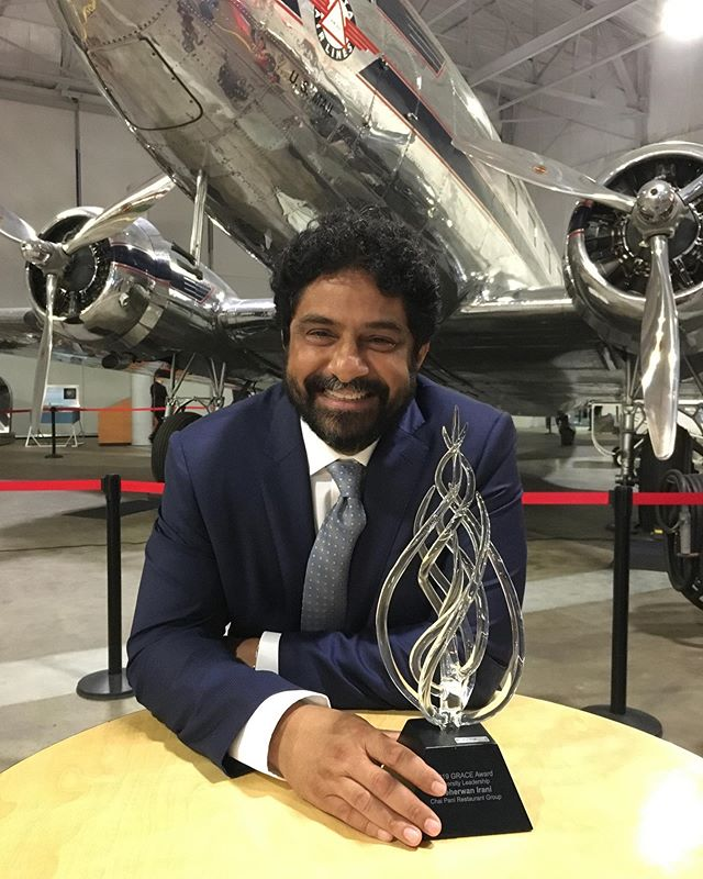 Meherwan Irani was at Delta Flight Museum in Georgia last night attending the 13th Annual GRACE Awards as a Diversity Leadership nominee....and he WON! Congrats to our amazing Chiefwalla 🍾 Thanks for working so incredibly hard to create a community and work-environment that fosters open-mindedness and diversity - offering a space where people know they are safe and respected. We couldn't be prouder. ♥️⁣⁣ ⁣⁣ The Georgia Restaurant Association's #GRACEAwards Gala recognizes hospitality and foodservice professionals for excellence and achievement in their fields, celebrating and honoring Georgia's exemplary culinary scene. ⁣The GRACE Award in Diversity Leadership seeks to recognize an industry professional who: 1) displays leadership in fostering diversity both in ⁣their restaurant and within the surrounding community, 2) exudes leadership through positive interaction between persons of different cultural backgrounds, 3) demonstrates outstanding efforts to promote an environment free from bias and discrimination, 4) bridges differences and builds inclusive communities across individual and intersecting identities–such as race, ethnicity, religion, social class, nationality, (dis)ability, sexual preference and gender expression.⁣ ⁣⁣ ⁣ To lean more about this event and the Diversity Leadership Award, check out the link in our bio. 👌🏽