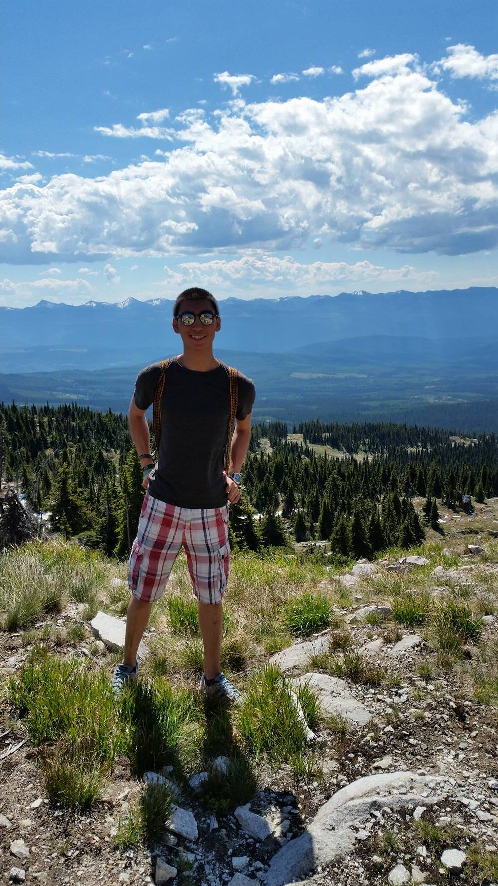 Hiking has always been a big part of my culture, and this summer I've had the great opportunity to continue to do so in Big White! - Gabo