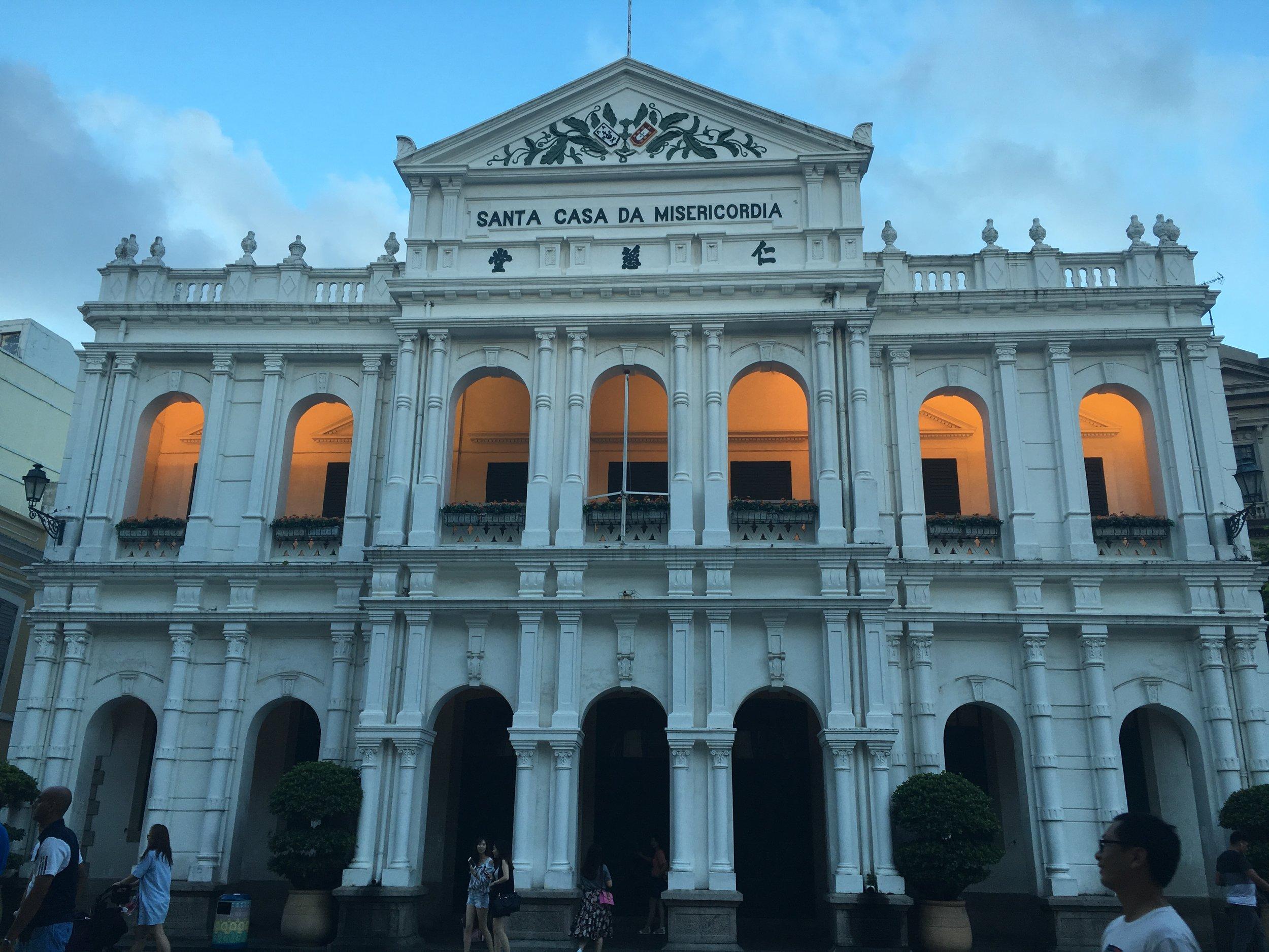 Santa Casa de Misericordia, Macau