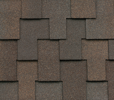 An example of an Elegant Heavyweight Shingle such as Malarkey Windsor. This color is Natural Wood.