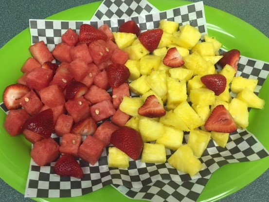 Add a Fruit Plate in the Party Extras  - 3lb seasonal fruits (3-4 kinds)
