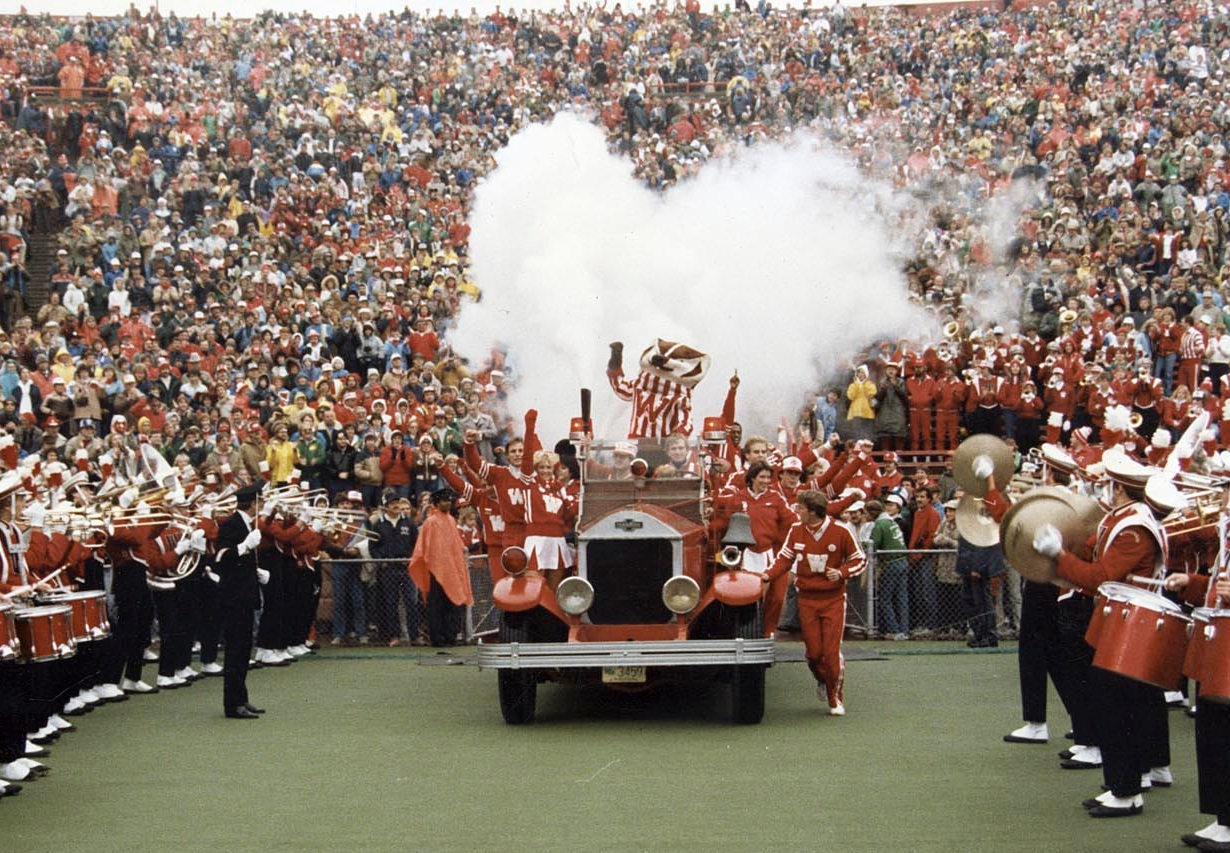 "- Learn about the history of UW-Madison Homecoming:""Celebrating Homecoming for More Than a Century"""