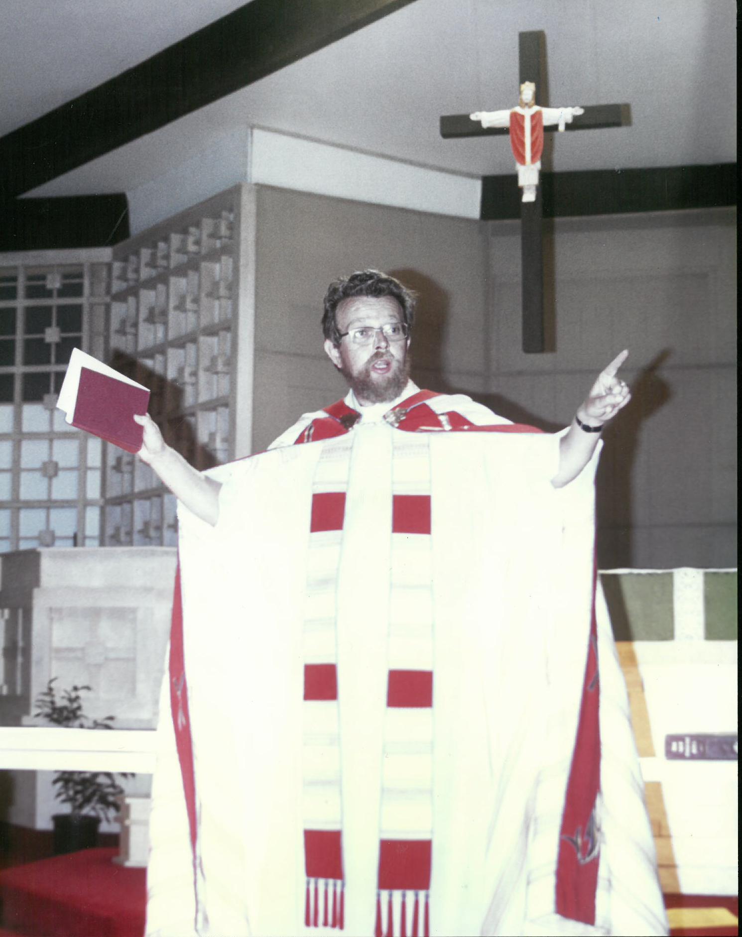 Bob Hibbs - 1st Rector of St. Stephen's - 1975-1977