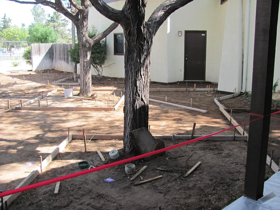Completion of the Courtyard - 2012