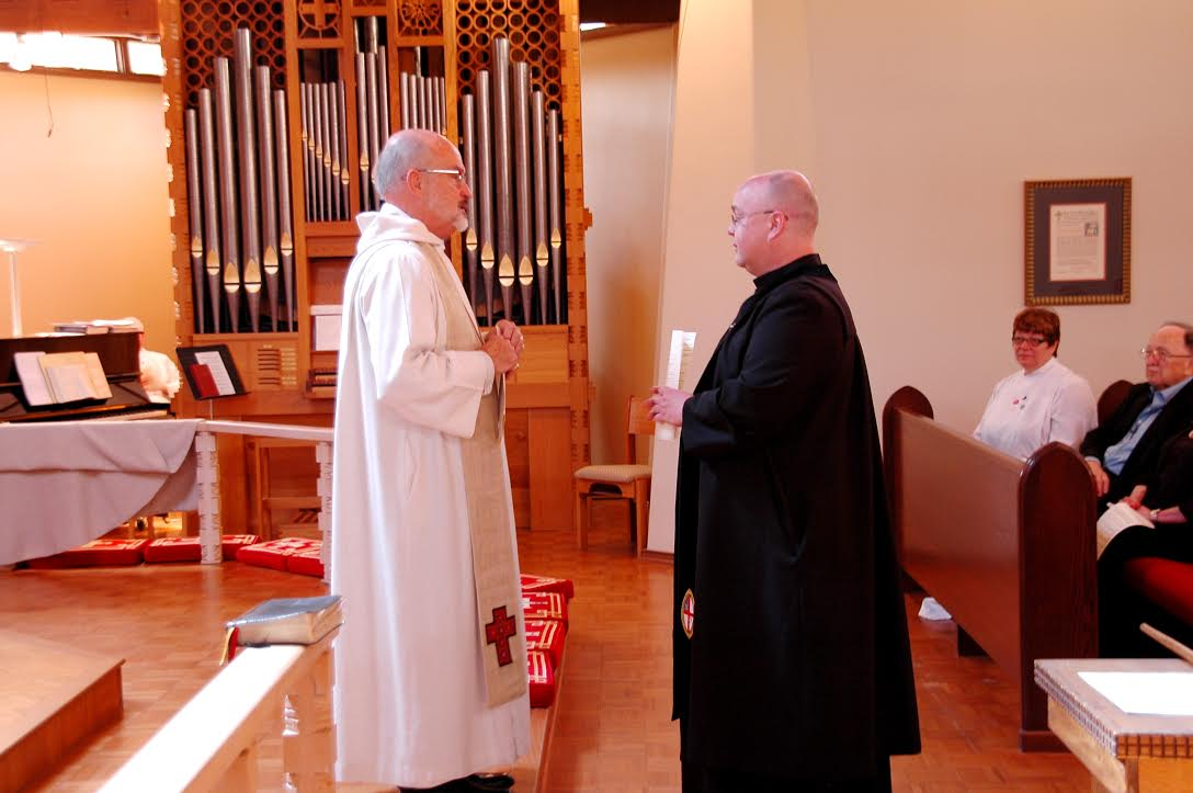 Michael Pullen's Commissioning as Verger - March 2015
