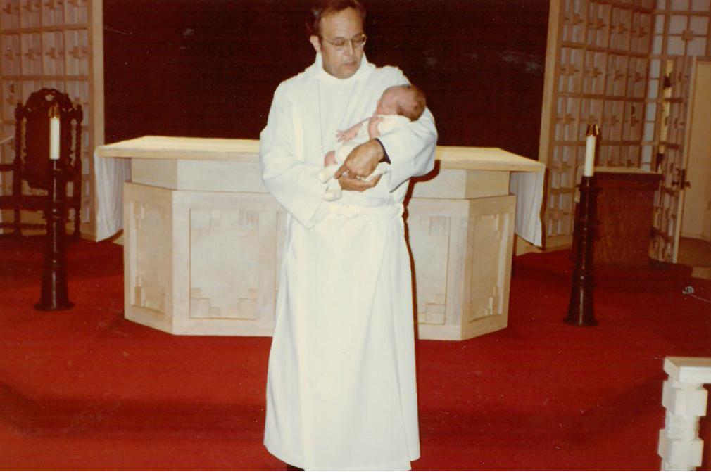 The Reverend William Eastburn - Rector from April 1982-1988
