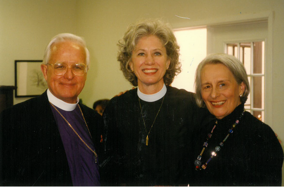 The Reverend Jo Roberts Mann Becomes St. Stephen's First Associate Rector From 1994-2001