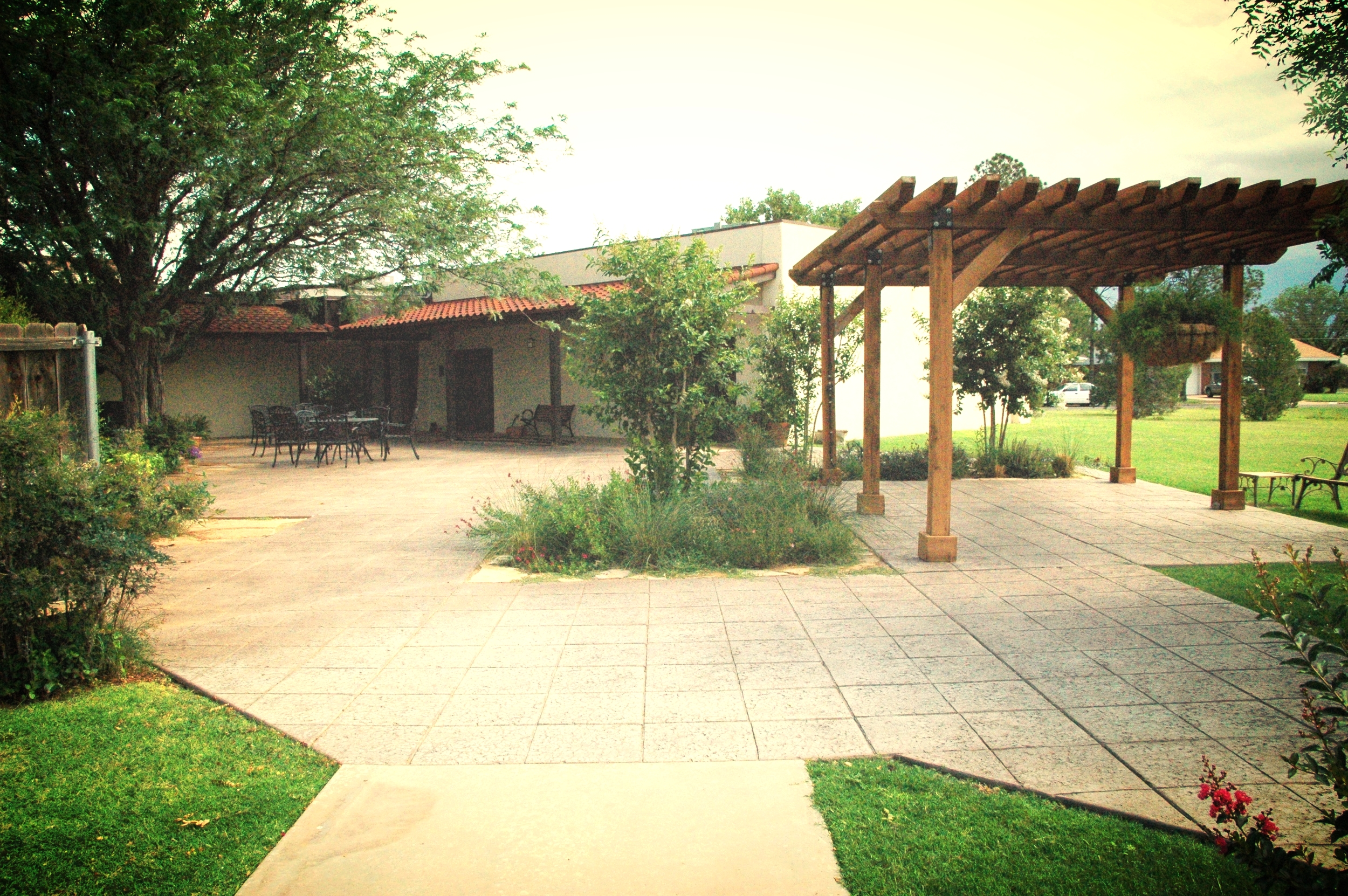 The Current Courtyard