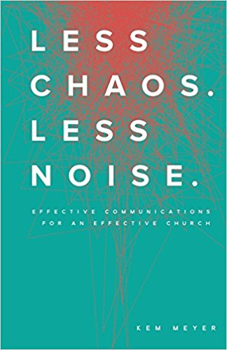 Less Chaos. Less Noise.  A fun and refreshing look at how we communicate.   Buy it here »