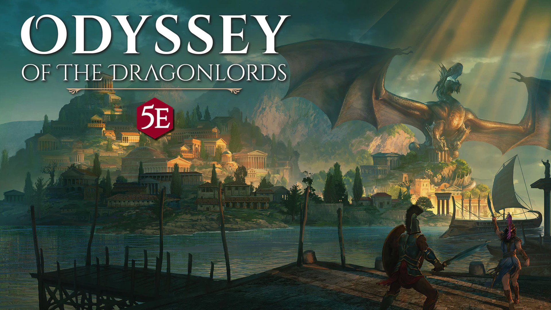 Odyssey of the Dragonlords from Arcanum Worlds and Modiphius