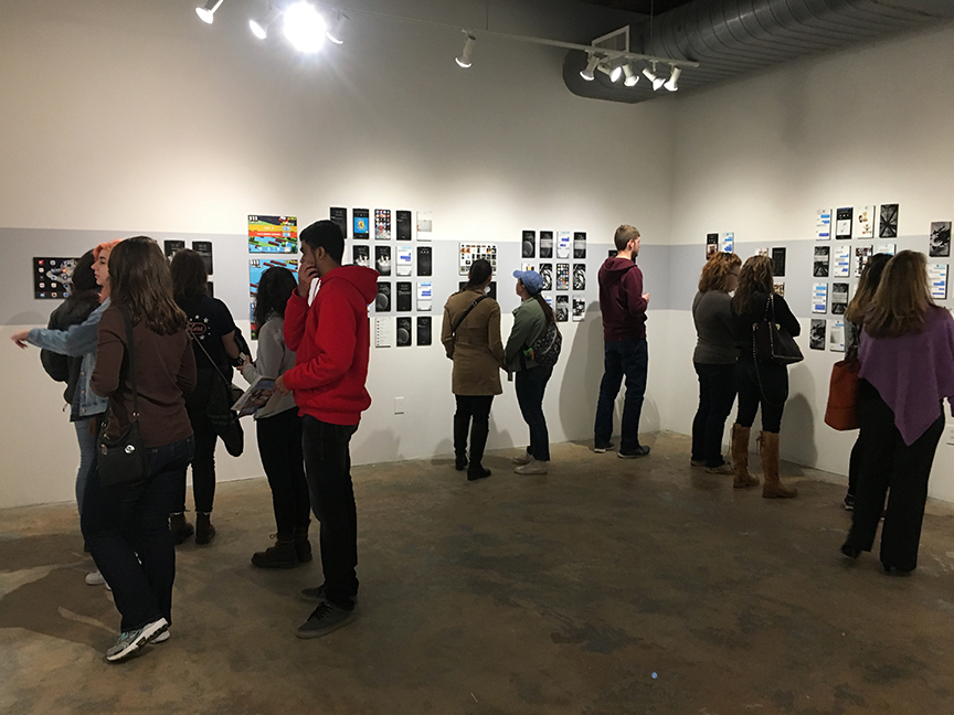 e1ev1n , exhibition in the CUBE gallery at VAE Raleigh. Feb 22 - April 8, 2017