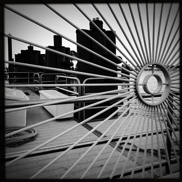 #bw #photography #streetphotography #lines #patterns #photographer #iphonesia #iphoneonly #instagood #instadaily #geometry #line #dc #alexandria #vacation #travel #art #water #metal #spokes
