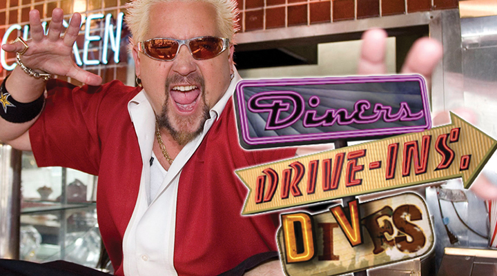 Food Network Diners, Drive-Ins and Dives - The Pineville Tavern's Ravioli