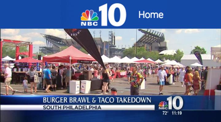NBC 10 - Burger BrawlJune 27, 2016