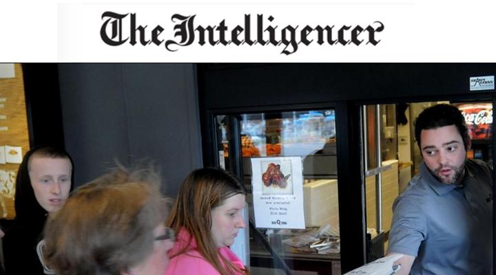 The Intelligencer - Making a Living: Restaurant business gives Bucks family a taste of successAmanda CreganDecember 29, 2015