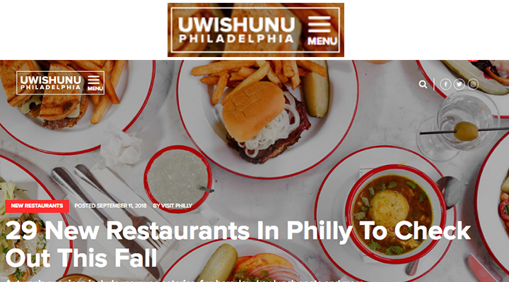 uwishunu.com - 29 New Restaurants in Philly To Check Out This Fall