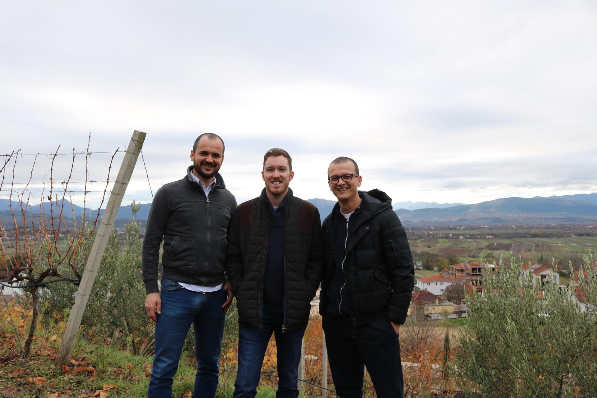 Ante, Matt, and Barisa... Skegro Winery