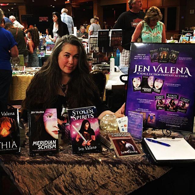 Debuting my novels at Payson book fair #book #novel #authorsofinstagram #authorlife