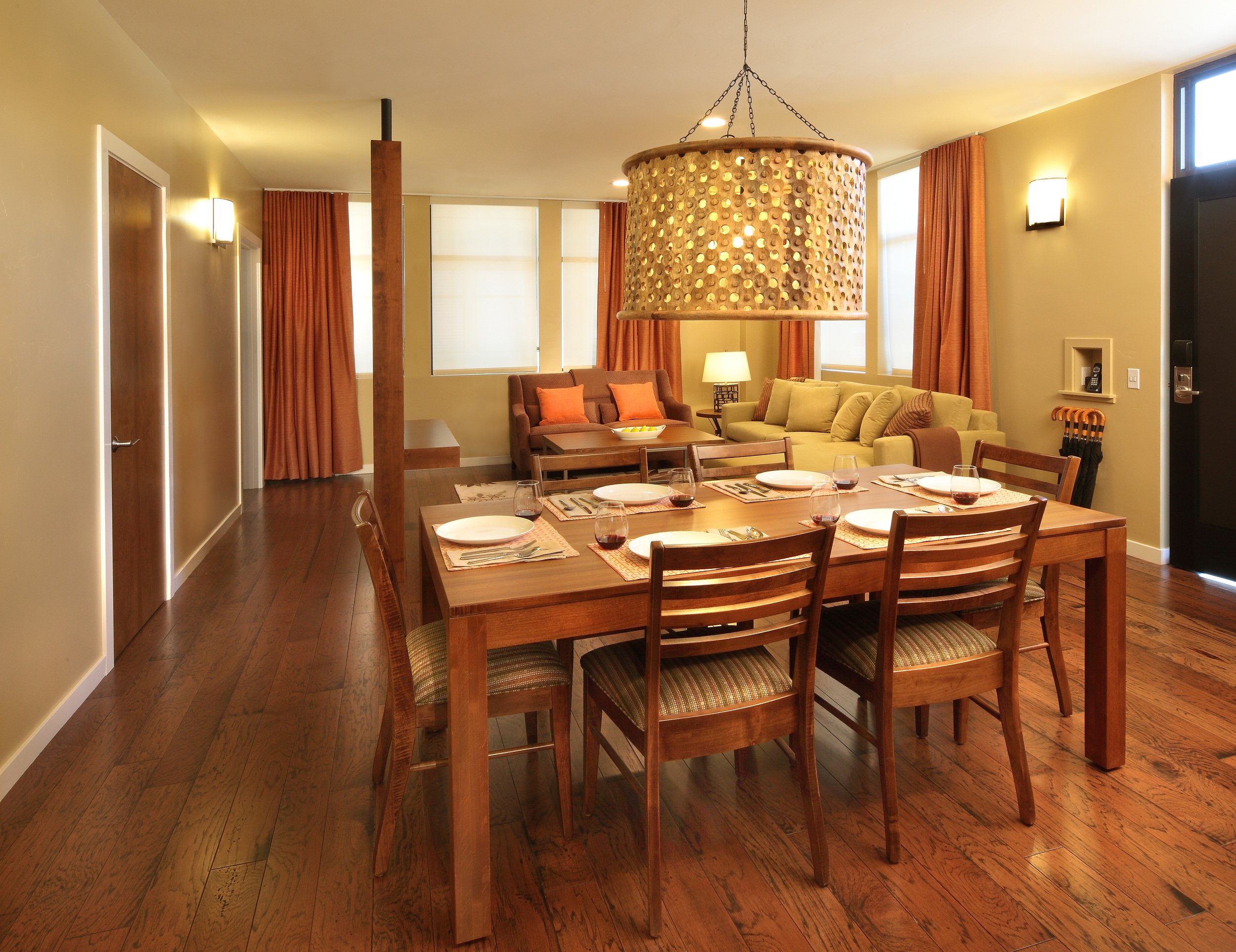 Two Thirty-Five | Orchard Suite dining area
