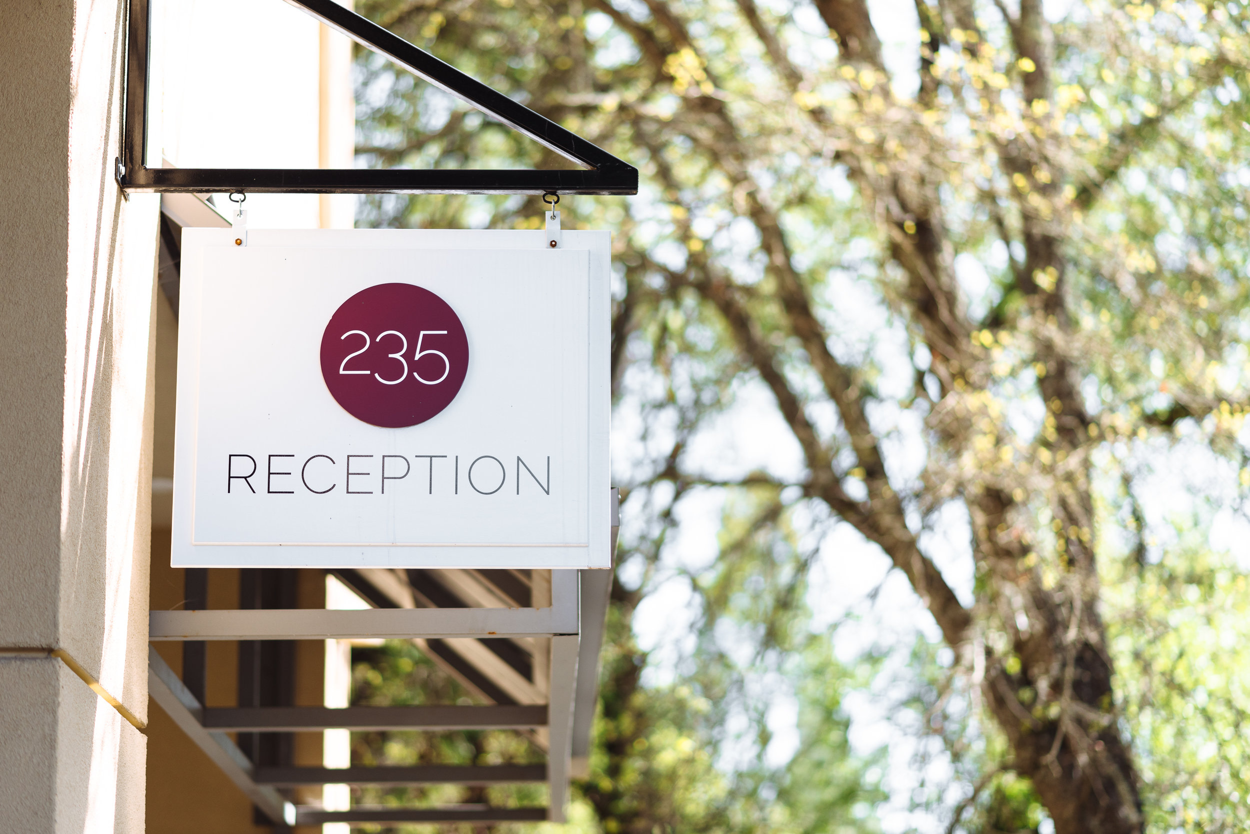 Two Thirty-Five Luxury Suites | Reception