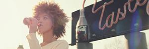 COKE-ZERO:  DRINKABLE BILLBOARD  AGENCY:  Ogilvy