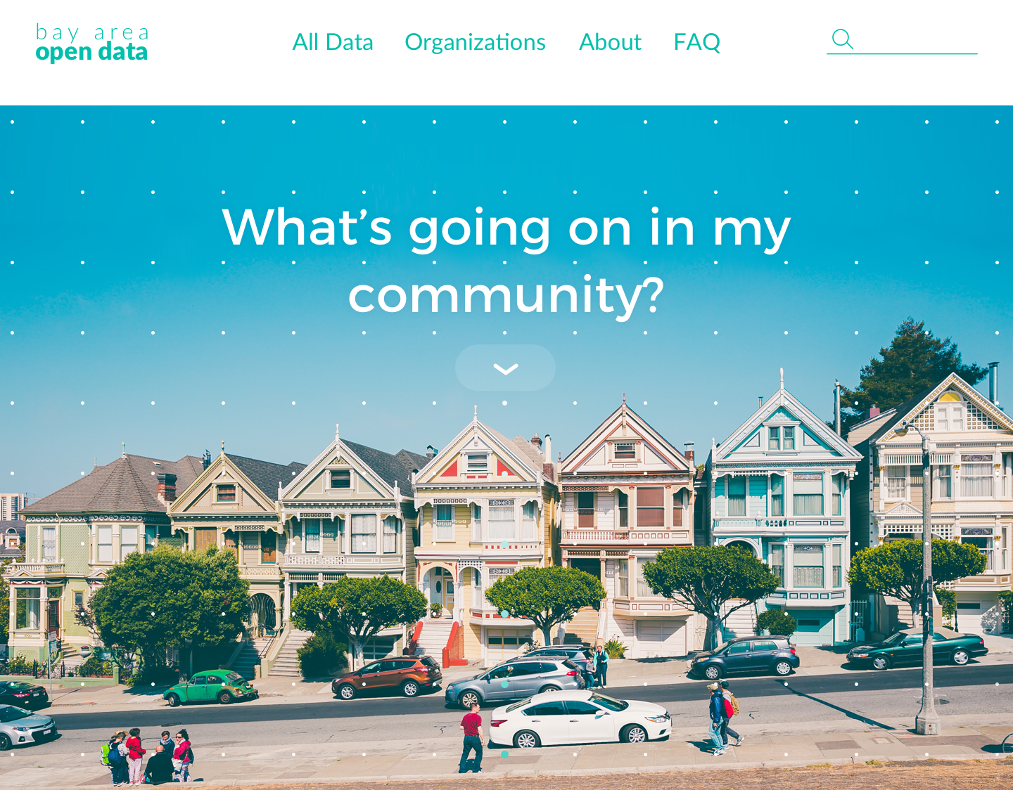 """Bay Area Open Data - Website RedesignA redesign concept of """"Bay Area Open Data,"""" a website with open-source data pertaining to cities within the San Francisco Bay Area.This project was done for the VTA (Valley Transport Authority) and Code for San Jose (part of Code for America)."""