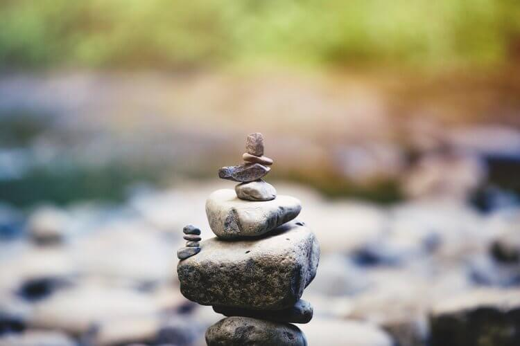 Mindfulness helps bring balance, stability and ultimately more happiness to our lives