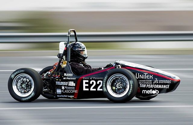 4 days to go until unveiling! Our team's second car, REV1, won 1st place overall at FSAE Electric Lincoln 2015 and also took 1st place in 7 out of 8 categories.  #FSAE #PennElectricRacing #UPenn