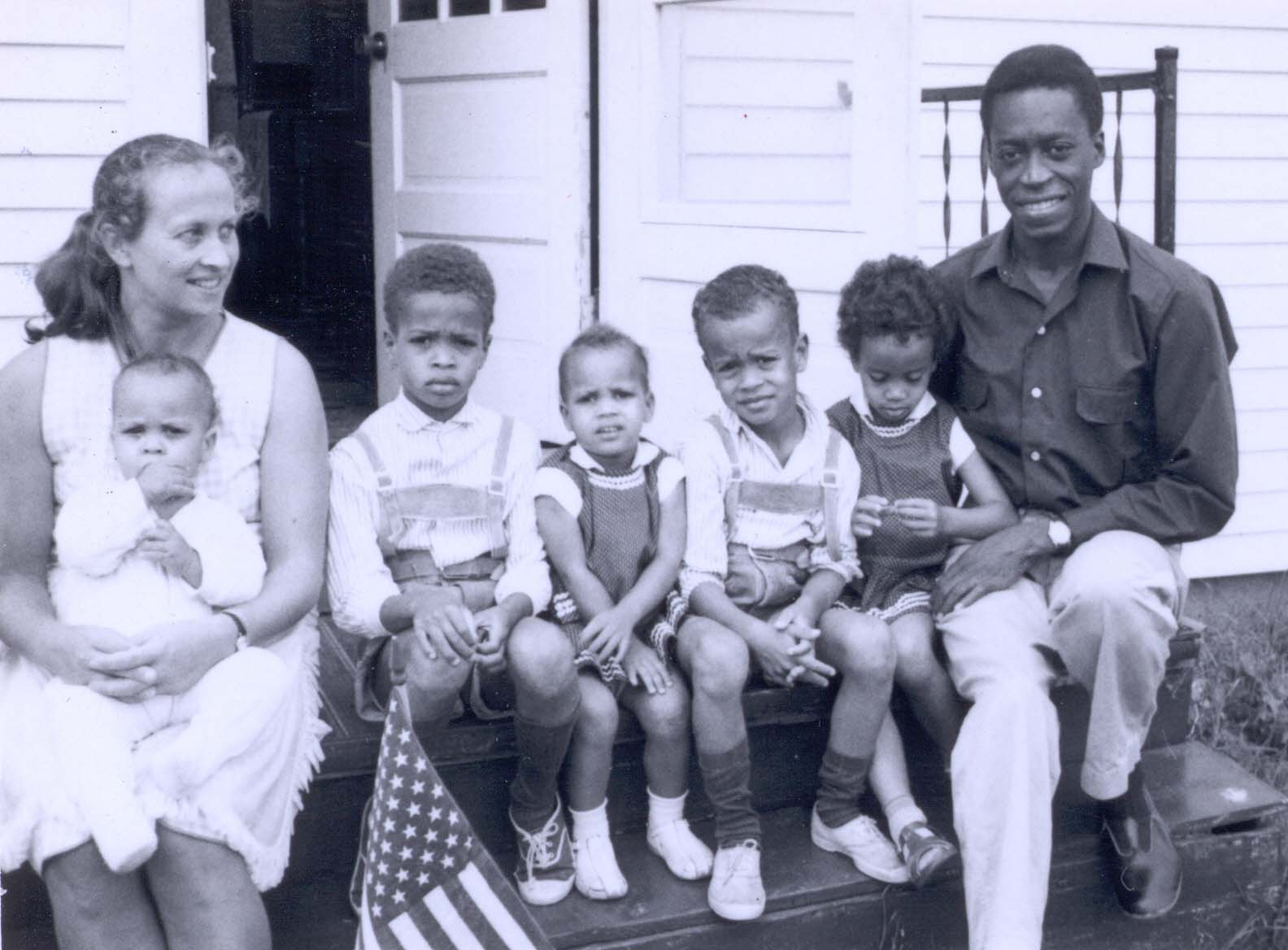 The 'J' is for Johnson. Here with my beloved parents and my four incredible sibs, 1966.