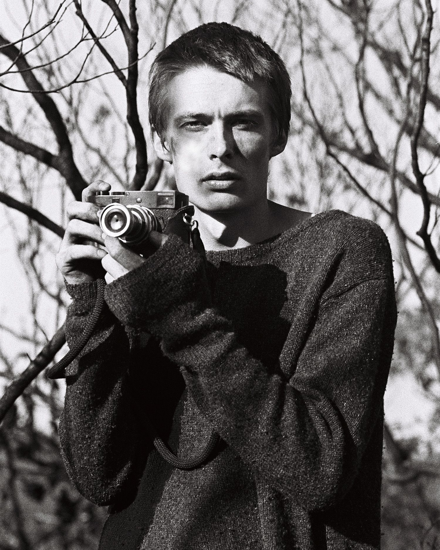 Me and my Leica M-D, shot by  Matt Robson  on TRI-X 400. Ironically, Matt used a Nikon F100 for this shot.