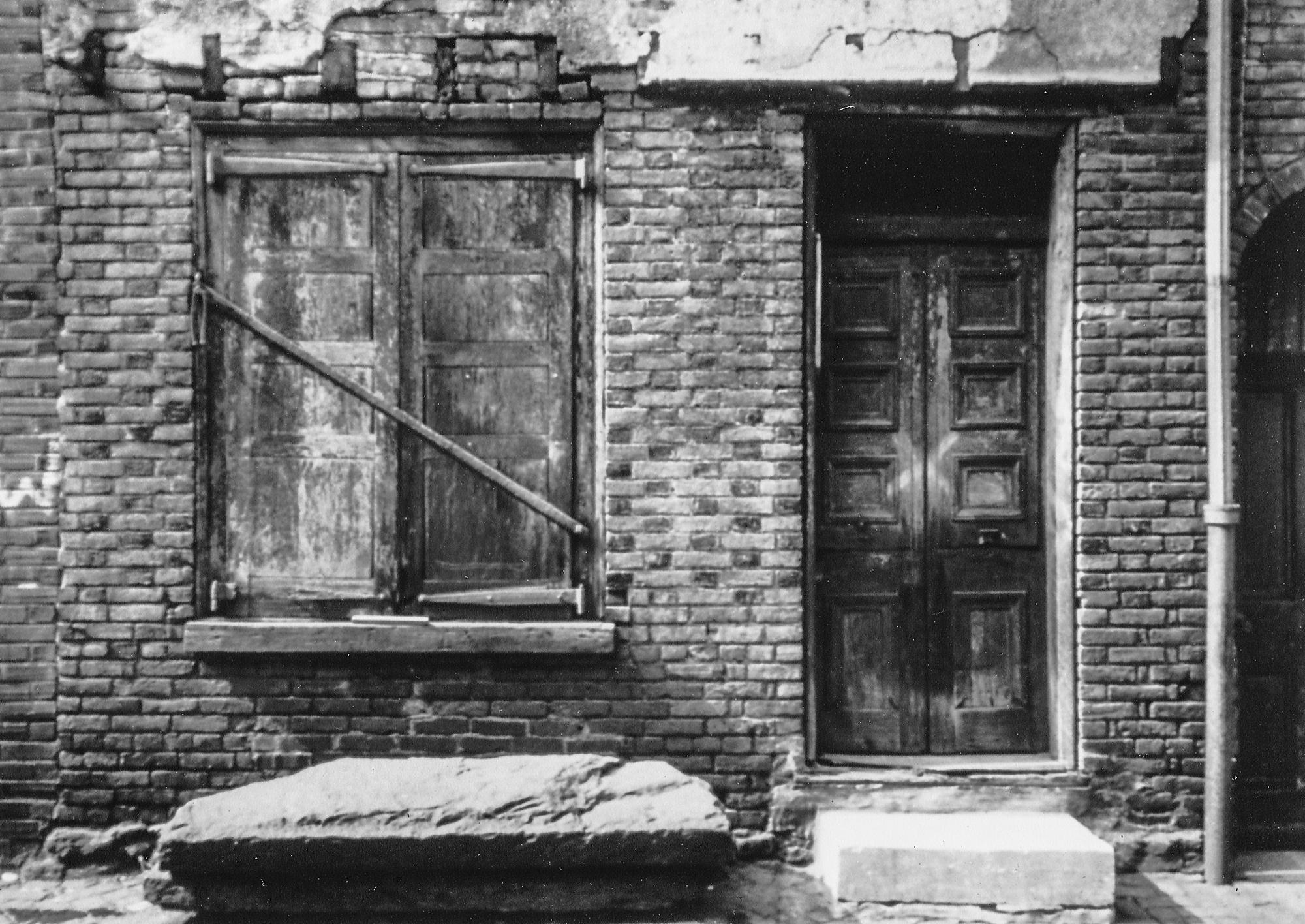 House no. 108, circa 1981.