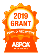 Thank you to the ASPCA for honoring Outcast Rescue with a spay/neuter grant for 2019