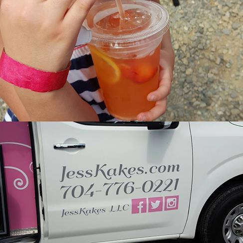 Jesskakes Famous strawberry lemonade