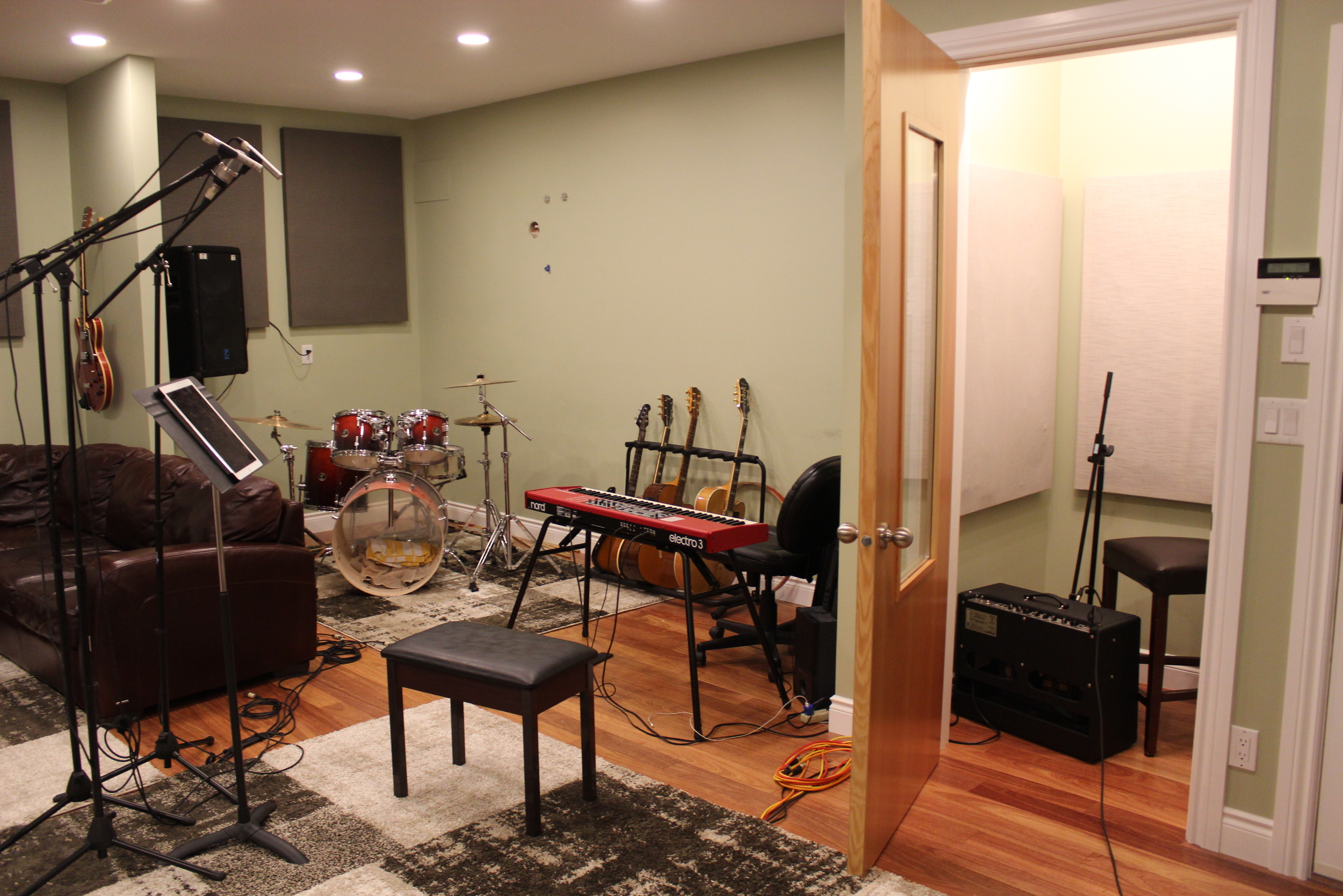 The Live Room.