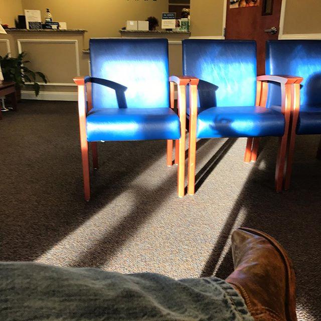 Nicest dentist office I've ever been in.