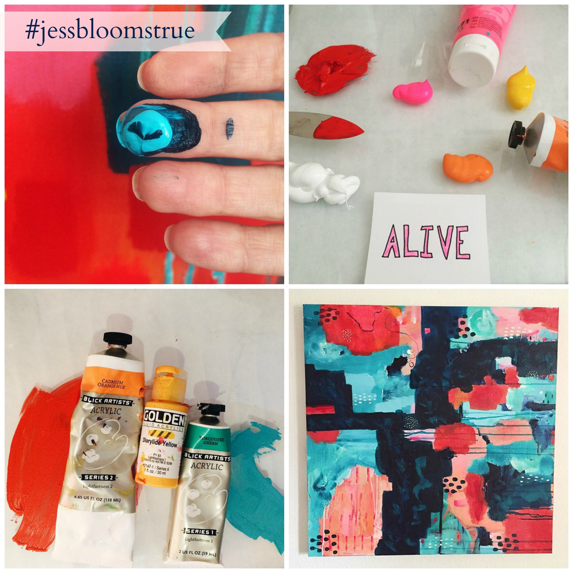 jess blooms true collage
