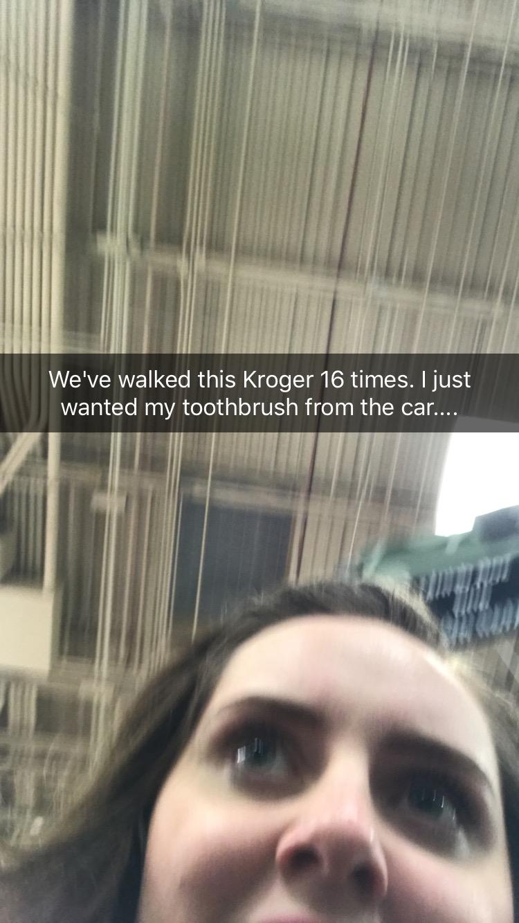 Lost In Kroger.